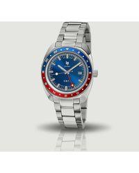 Lip Marinier 39 Watch Pepsi Argent - Metallic
