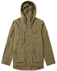 Barbour X Engineered Garments Thompson Jacket Olive - Green
