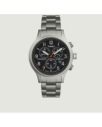 TIMEX ARCHIVE Allied Chrono Watch Bead Blasted Black - Metallic
