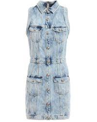 Balmain Denim Dress - Blue