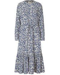 Lolly's Laundry Anastacia Dress Flower Print - Blue