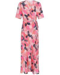 Mercy Delta Dunston Jungle Fever Dress - Pink