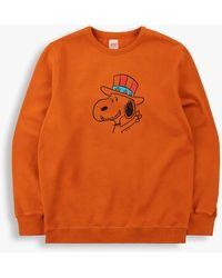 Tsptr Snoopy 2020 Sweatshirt - Orange