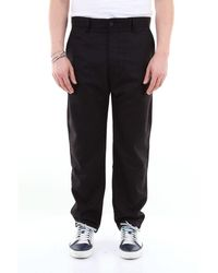 Carhartt Menson Pant Solid Color With America Pocket - Black
