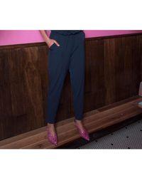 Gestuz - Pink Glitter Slingback Shoes - Lyst