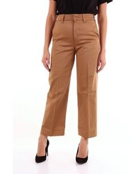 Department 5 Department 5 Classic Camel Colored Pants - Brown