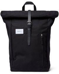 Sandqvist Dante Bag - With Leather - Black