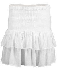 Honorine Pixie Skirt - White