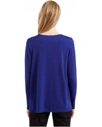 Great Plains - Palace Jersey Pleated Shoulder Top - Lyst