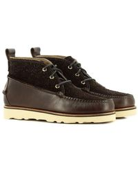G.H. Bass & Co. Gh Bass & Co Camp Moc Ranger Mid - Choc Leather/suede - Brown