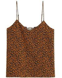 Scotch & Soda Scotch & Soda Mini Leopard Cami - Brown