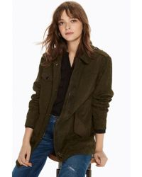 Maison Scotch - Military Jacket In Military Green - Lyst