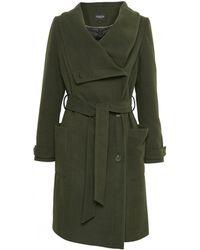 Soaked In Luxury - Cornell Coat Green - Lyst