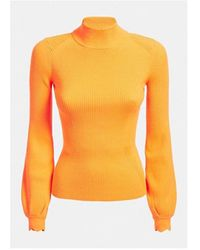 Guess Helena Turtle Neck Colour: Orange