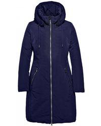 Creenstone - Mid Length Hooded Coat - Lyst