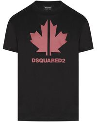 DSquared² Kids Branding Tshirt - Black