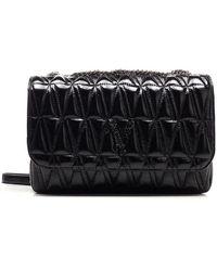 Versace - Women's Dbfh822dnapltknjp Black Other Materials Shoulder Bag - Lyst