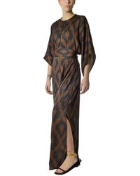Bazar Deluxe Polyester Dress - Brown