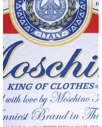 Moschino Beach Towel - Blue