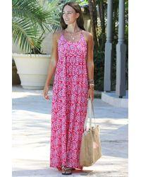 Aspiga Lenu Maxi Dress | - Pink