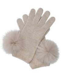 Marella Maiorca Stone Knitted Gloves 656601952 - Brown