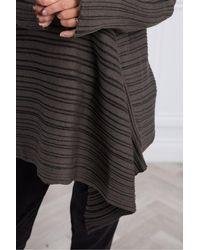 Crea Concept Two Tone Stripe Tunic - Multicolour
