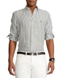 Ralph Lauren Linen Shirt - White