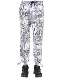 DIESEL Cotton Pants - Gray