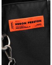 Heron Preston Tote Bag - Black