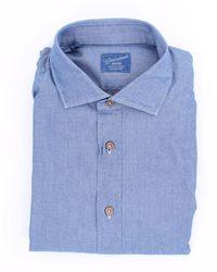 Giampaolo Viozzi Giampaolo Shirts Denim Denim - Blue