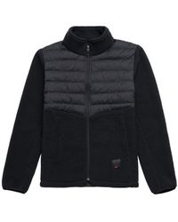 Herschel Supply Co. Chaqueta Hybrid Sherpa Full Zip - Black