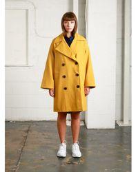 Native Youth | Creator Overcoat | Mustard Yellow