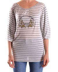John Galliano Tshirt Short Sleeves - Grey