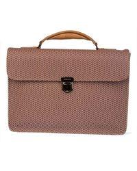 Zanellato Men's 3609358l5 Brown Leather Briefcase