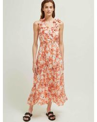 Great Plains Tulum Maxi Dress - Orange