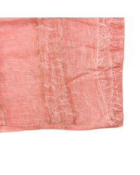 Patrizia Pepe Scarf In Pink