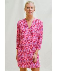Aspiga Mila Shirt Tunic   - Pink
