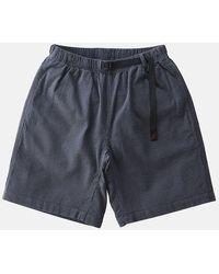 Atterley Gramicci G-shorts (seersucker) - Charcoal - Blue