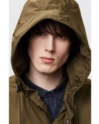Parka London Parka Finlay Olive Essential Rain Jacket - Green