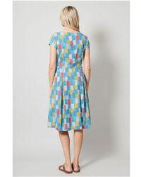 LILY & ME Falmouth Dress Lm5063 - Blue