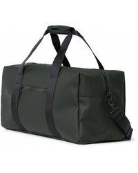 Rains Waterproof Gym Bag In Green 1338