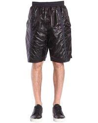 Diesel Black Gold Diesel Gold Polyester Shorts - Black