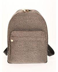 Borbonese Backpack Medium 934105i15 X11 - Brown