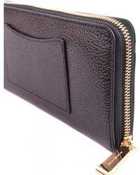 83ba4b380d81 Michael Kors Hamilton Flap Wallet in Red - Lyst