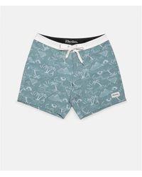 Rhythm Swimwear Desert Palm - Sea - Blue