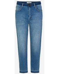 Munthe Rouge Jeans In Organic Cotton - Blue