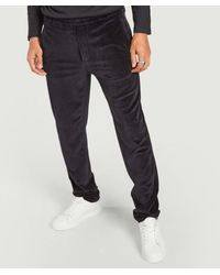 Majestic Filatures Straight Fit Corduroy Trousers Marine - Blue