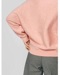 Bellerose - Gyrdie Knitted Sweat In Pink - Lyst