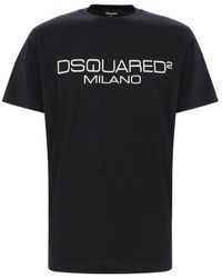 DSquared² Logo T-shirt - Black