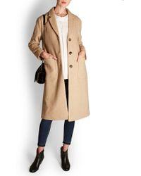 American Vintage - Beb Wool Coat - Lyst